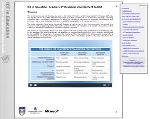 ICT in Education - Teachers' Professional Development Toolkit